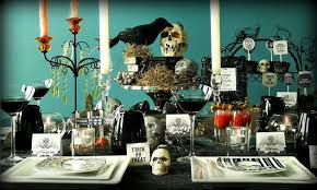 spooky decorations cool and spooky table decorations let s party
