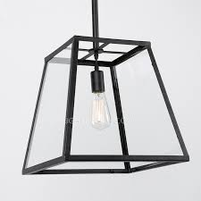 Black Iron Ceiling Light Lights Glass And Black Fixture Metal Material Regarding Attractive