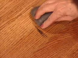 Laminate Floor Scratch Repair How To Touch Up Wood Floors How Tos Diy