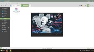 krita creative sketching and painting application for linux