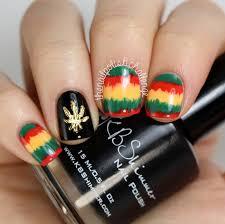 weed nail art and swatches nailpolis museum of nail art