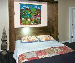 custom barn door murphy beds by flying beds international flyingbeds