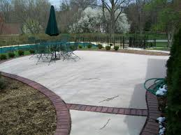 Concrete Patio With Pavers Calculate Patio Pavers Free Home Decor Techhungry Us