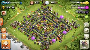 best of clash of clans clash of clans tips town hall level 10 layouts