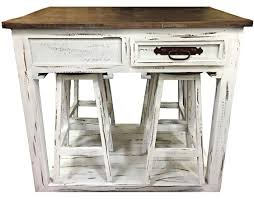 kitchen island with 4 stools kitchen island and 4 stools by rustic turner s budget