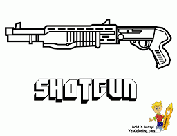 shotgun military coloring pages other best images of gun