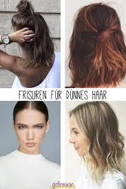 Frisuren Mittellange D Ne Haare by Kreativ Frisuren Lange Dünne Haare Selber Machen Deltaclic