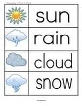 weather theme activities and printables for preschool pre k and