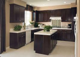 Dark Cabinets Kitchen Ideas Precious Small Kitchens With Dark Cabinets Delightful Ideas 46