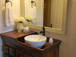 Rustic Small Bathroom by Bathroom 51 Metal Bucket Washer Inspired For Rustic Accent