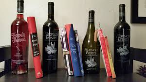 more wine and book pairings heringer estates