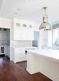 White And Gray Kitchen Cabinets grey white kitchen w dark wood floors farmhouse sink dream