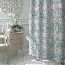 Unique Shower Curtains Fabric Shower Curtain Liner Gray Unique Shower Pale White Curtain