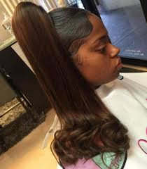 weave ponytail 30 black ponytail hairstyles