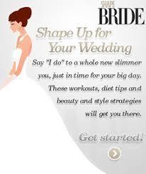 for your wedding wedding workout shape magazine