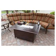 Patio Fireplace Table Az Patio Heaters Fire Tables Espresso Brown Target