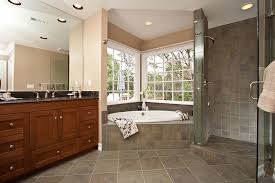 corner tub bathroom ideas corner tub shower combo bathroom traditional with bathroom