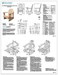 How To Build An Armchair Phenomenal Free Building Plans For Adirondack Chairs 6 How To