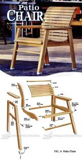 Patio Chair Plans Patio Chair Plans Outdoor Furniture Plans Furniture Plans And