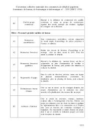 convention collective bureaux d udes techniques idcc 1539 avenant sur la classification dans la ccn des commerces de