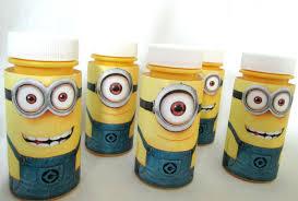 minion party minions favors minion party favors favors minion bottle