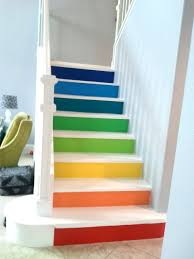 Paint Colours For Hallways And Stairs by Stairs In Full Color The Big Reveal Paint Stairs Basements And