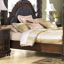 Northshore Bedroom Set Bedroom Sets North Shore B553 6 Pc Poster King Bedroom Set At