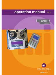 8018 operation manual rev cb english printer computing printing