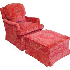 Bedroom Chair Fantastic Recently Upholstered Pink Patterned Silk Down Mix