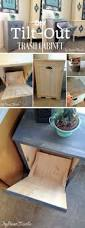 kitchen garbage cabinet best 25 trash can cabinet ideas on pinterest hidden trash can