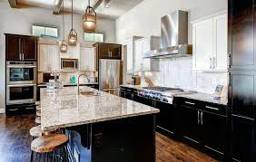 black cabinets white countertops remarkable countertop with dark cabinets white countertops