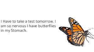 butterflies in stomach