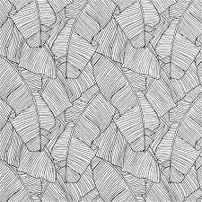 palm black and white self adhesive wallpaper cb2 home decor