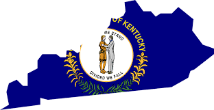 kentucky flag map free vector graphic kentucky map usa state flag free image