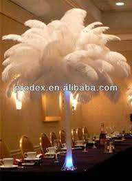 party decoration white black ostrich plumes feathers for wedding