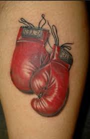 boxing glove tattoo google search your body is a canvas