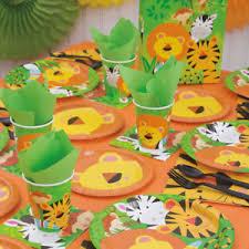 jungle theme birthday party animal jungle theme birthday party supply bundle kit tableware