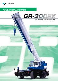 gr 300ex tadano faun pdf catalogue technical documentation