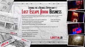 lost in jb real escape room in johor bahru