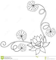 Fleur De Lotus Tattoo by Simple Lotus Flower Tattoo Designs Lotus Flower Curly Frame