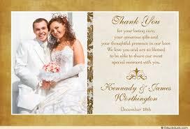 wedding thank you wedding thank you card classic photo wedding thank you cards