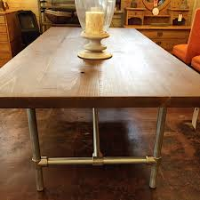 westside home decor lovely ideas galvanized dining table precious industrial westside