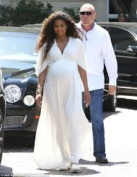 Kim Kardashian Pregnant Meme - heavily pregnant ciara is angelic in white as she shows off large