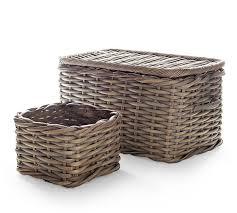 aubrey woven utility basket pottery barn au