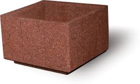 Concrete Rectangular Planter by Rectangular Concrete Planters