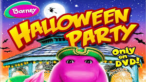 barney halloween party youtube