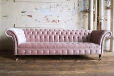 velvet chesterfield sofas armchairs u0026 suites ebay