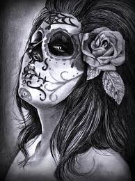 day of the dead tattoo design