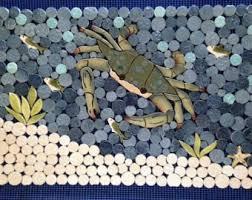 crab tile etsy