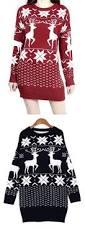 long christmas sweaters with reindeer national ugly christmas